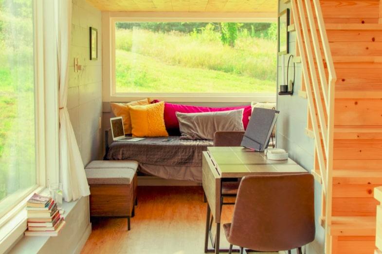 interieur van een tiny house